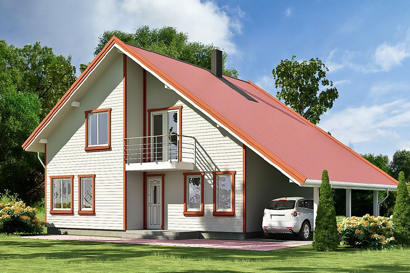 Проекты каркасных домов в саратове